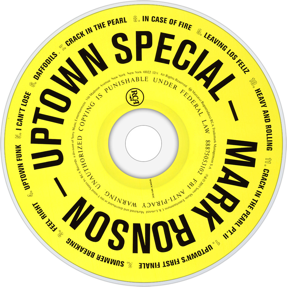 Cover art for Mark Ronson's 'Uptown Special'